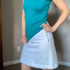 Jeans skirt. By Ann Taylor size 0